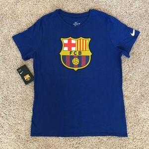 Nike FC Barcelona Exclusive Tee size M